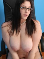 Angel Deluca shows off her sexy tits at scalebustinbabes.com